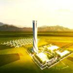 Impianto cinese per produrre energia termica solare