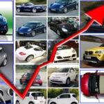 Mercato auto: in agosto +8.5%