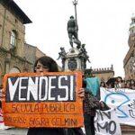 Gli studenti scendono in piazza contro la riforma Gelmini